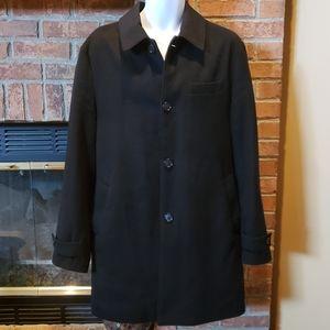 Stafford Classic Fit Signature Wool Coat